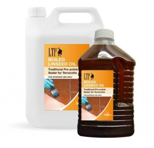 Lněný olej na cihlovou dlažbu, terakotu LTP Boiled Linseed Oil 5l