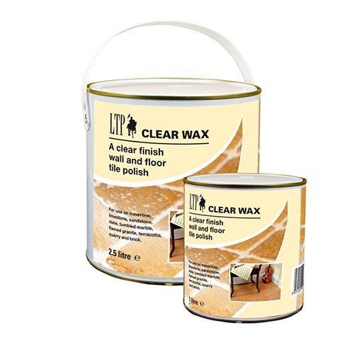 Bezbarvý vosk na cihlovou dlažbu terakotu a kámen   LTP Clear Wax 2,5l