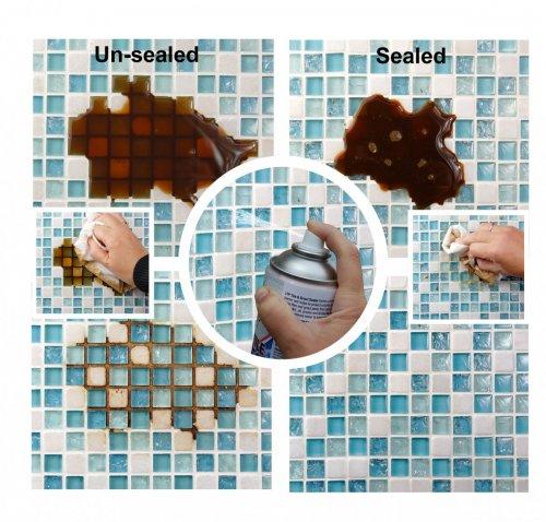 Impregnace skleněných obkladů a mozaiky